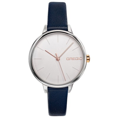 GREGIO Fiorella Blue Leather Strap GR220060