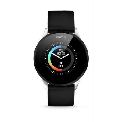 OOZOO Smartwatch Black Rubber Strap Q00113