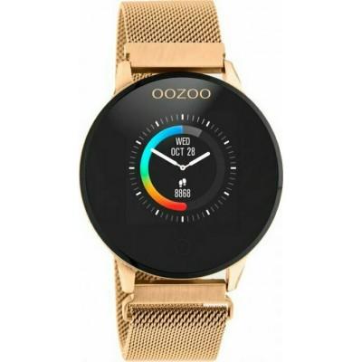 OOZOO Smartwatch Unisex Rose Gold Metallic Bracelet Q00117